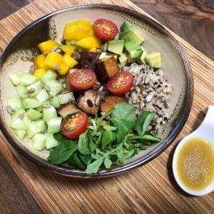 Poke Bowl vegetariano súper fácil